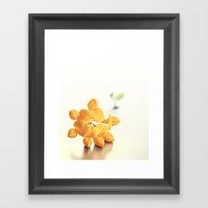 Yellow Clover Framed Art Print