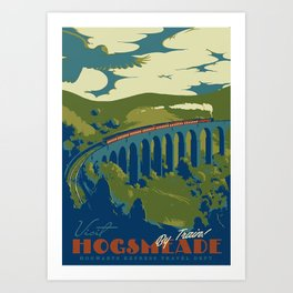 Visit Hogsmeade Art Print