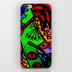 Lizard Princess iPhone Skin