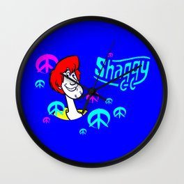 shaggy doo Wall Clock
