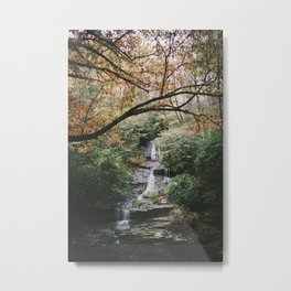 Tom Branch Falls Metal Print