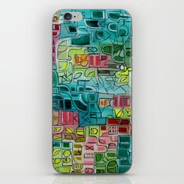 Abstract 87 iPhone Skin