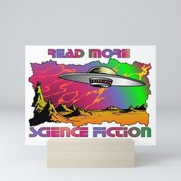 Read More Science Fiction Mini Art Print