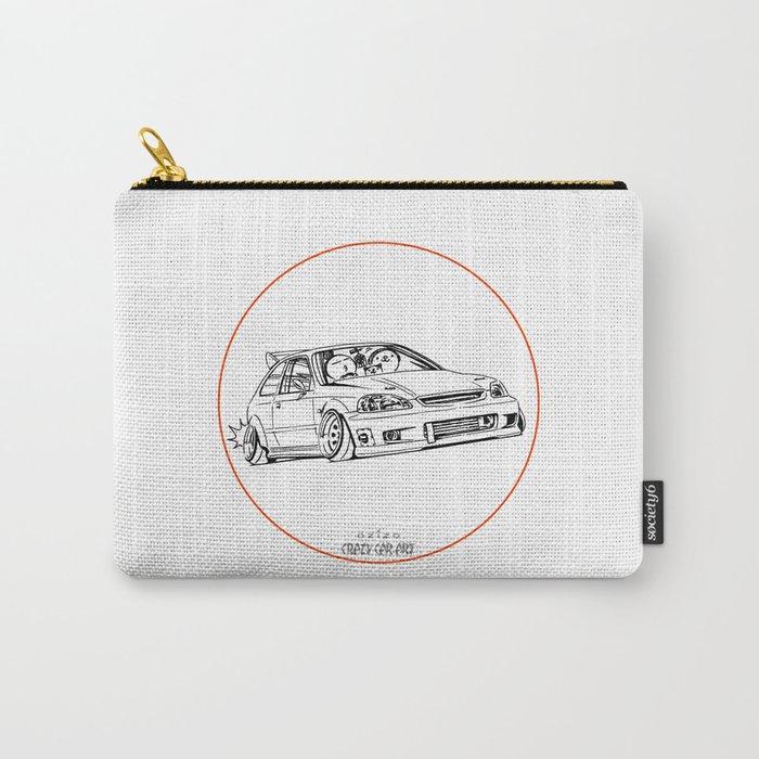Crazy Car Art 0217 Carry-All Pouch