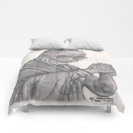 Dalai Lama Tenzin Gyatso Drawing Comforters