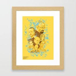 The Cristal  Framed Art Print