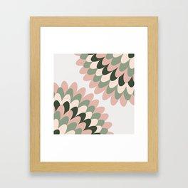 Dahlia at Office Framed Art Print