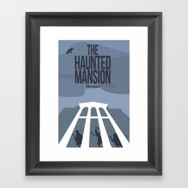 The Haunted Mansion Framed Art Print
