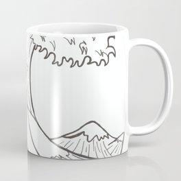 The wave of Kanagawa Coffee Mug