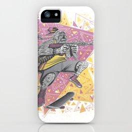 Skate Wars Yeti iPhone Case