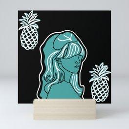 Pineapples I Mini Art Print