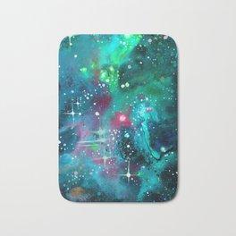 Emerald Nebula Bath Mat