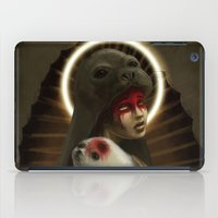 seal iPad Cases featuring seal by lalinsan