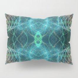 Abstract Light-trails Mandala 777 Pillow Sham