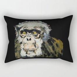 Billy Joe, the Chimpanzee (1969-2006) Rectangular Pillow