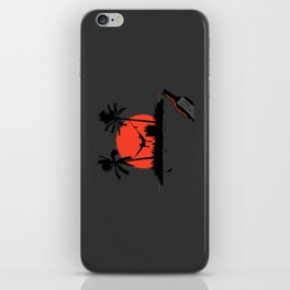 Desert Island Drunk iPhone Skin