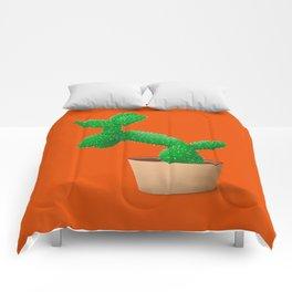 Cactus dog Comforters