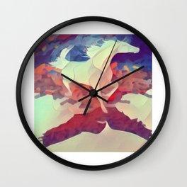 Prism Shadow Wall Clock