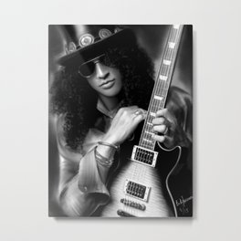 Slash Metal Print