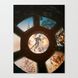 The Eye of The Galaxy by GEN Z Canvas Print