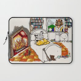 Books Coming to Life: Beauty and the Beast Laptop Sleeve