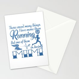 Running Mimi Stationery Cards