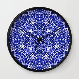 Amirah Blue Wall Clock