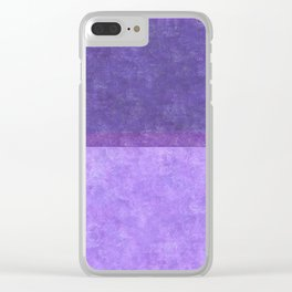 Imagining Rothko in Spring #2 Clear iPhone Case