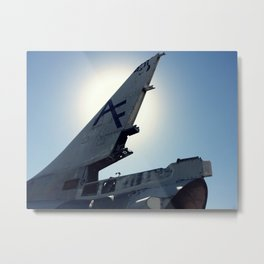 A-4 Tail in the Sun Metal Print