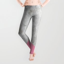 Concrete Arrow Pink #329 Leggings