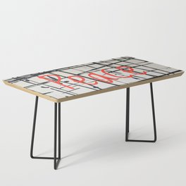 Best foot forward - Peace Coffee Table