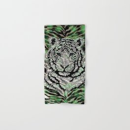 White Tiger Heart of the Jungle Hand & Bath Towel