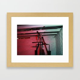 Psychology of Crime 03 Framed Art Print