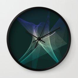 Star Chaos Wall Clock