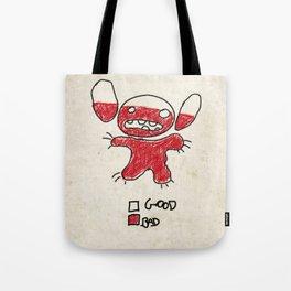 Stitch good&bad meter.... Tote Bag