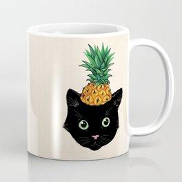 Pineapple Kitty Coffee Mug