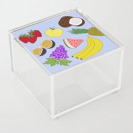 Fruit! in Sky Blue Acrylic Box
