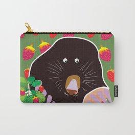 Cute Garden Mole Carry-All Pouch