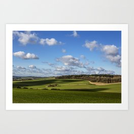 Views of Wiltshire. Art Print