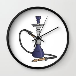 Shisha water pipe Wall Clock