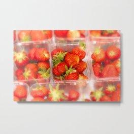 Strawberrys Metal Print