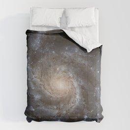Pin wheel Galaxy Comforters