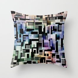 Tlaloque Throw Pillow