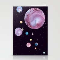 planets Stationery Cards featuring Planets by Suky Goodfellow