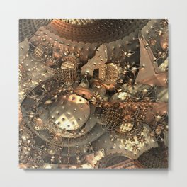 Crash at Roswell Metal Print