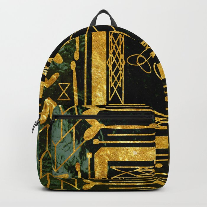 Folk Art Deco Backpack