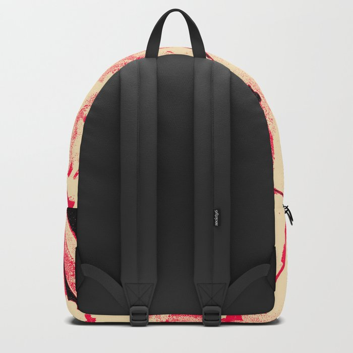 Peaches and Cream Wave for the Lovers Backpack