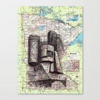 minnesota Canvas Prints featuring Minnesota by Ursula Rodgers