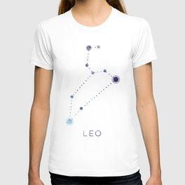LEO STAR CONSTELLATION ZODIAC SIGN T-shirt