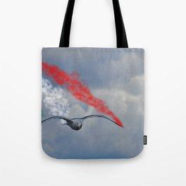 freccia Tricolore Tote Bag